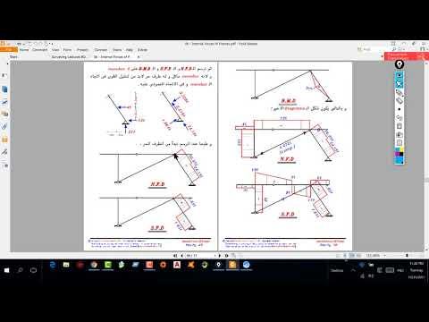 frame internal force ex2