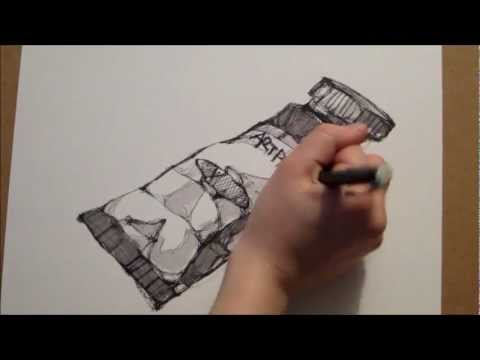 Scribble Drawing Easy : How to scribble draw speed drawing for beginners francesrush
