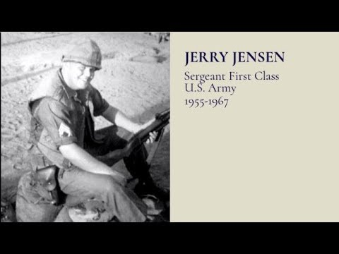 #TributetoaVeteran - SFC Jerry Jensen, US Army, 1955 - 1967