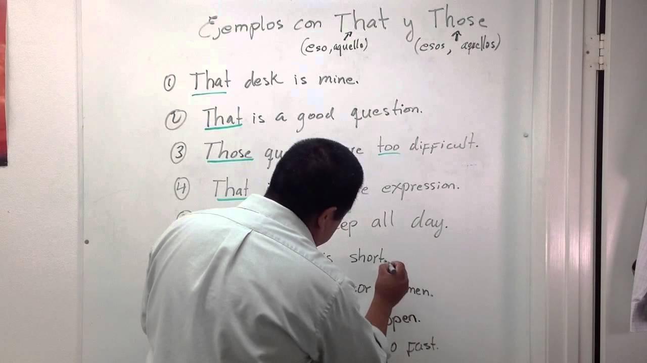 Ejemplos con oraciones con las palabras that y those for Oraciones con la palabra beta