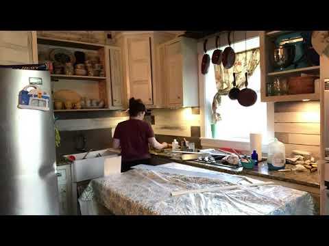 Grace and Rubies at home! DIY BACKSPLASH