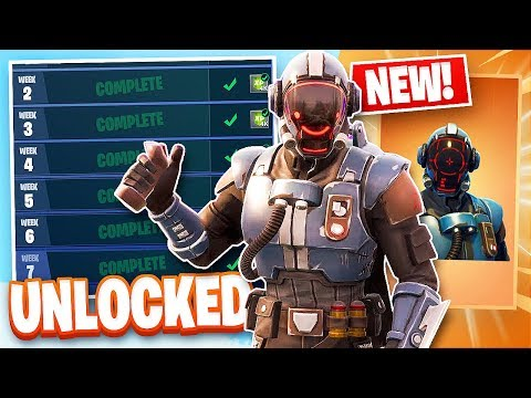 Fortnite *Blockbuster Challenge* Unlocking