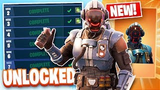 "Fortnite 'Blockbuster Challenge' Déverrouillage ""The Visitor"" Legendary Skin! (Fortnite Battle Royale)"