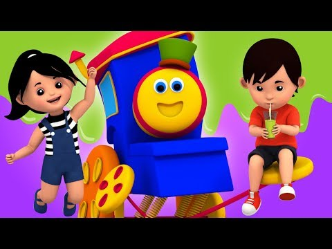 Action Song | Learning Street With Bob The Train | Educational Videos For Children by Kids Tv