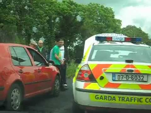 Turf cutting protester Luke 'Ming' Flanagan gets jumped by gardai