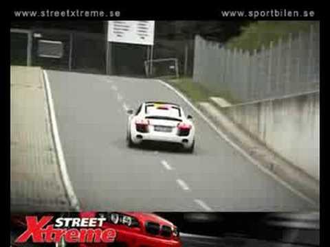 Audi R8R MTM Supercharger