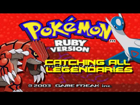 Pokemon Ruby All Legendary Pokemon Locations Youtube