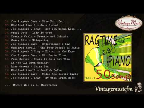 50 Piano Bar, Ragtime Songs (Full Album/Álbum Completo) Vol. 1, Honky Tonk