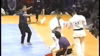 K-1GP'97準々決勝のフランシスコ・フィリォとサム・グレコ戦の煽...