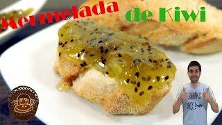 Mermelada de kiwi, receta fácil.