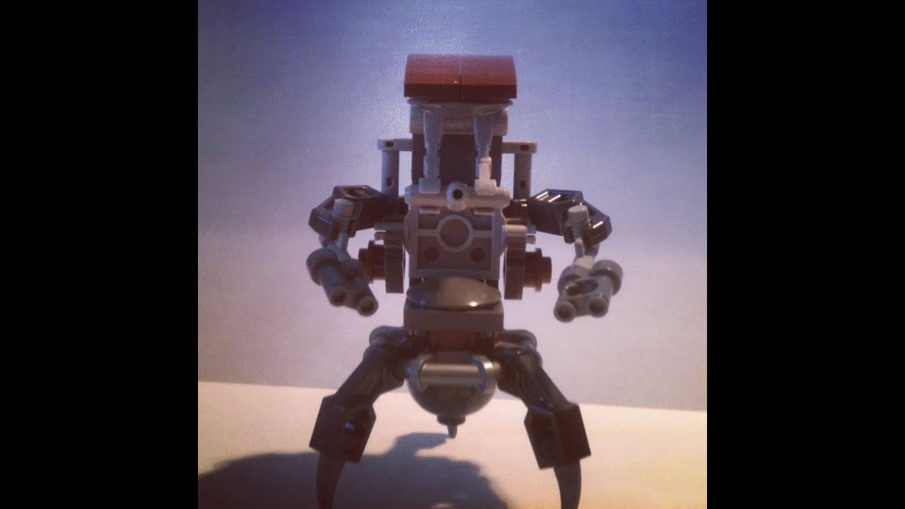 How To Build  Lego Droideka