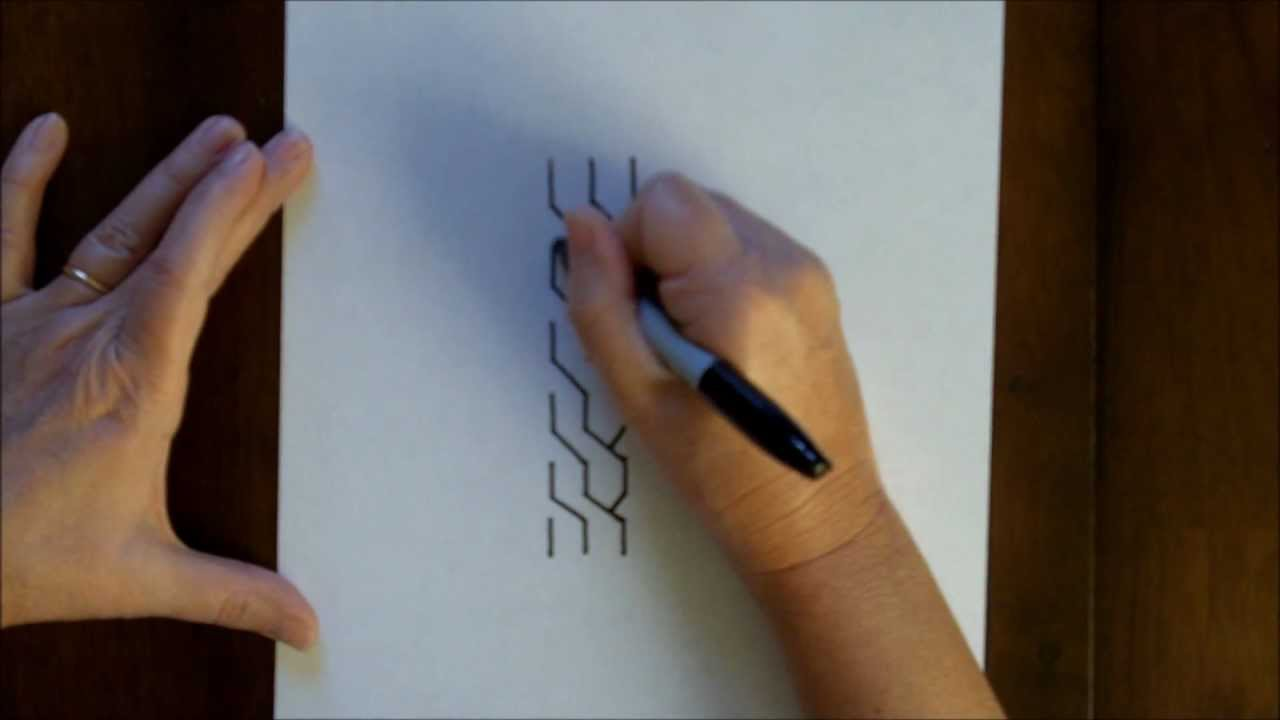 How To Draw A Chain Step By Step Beginner Tutorial Easy Art Lesson