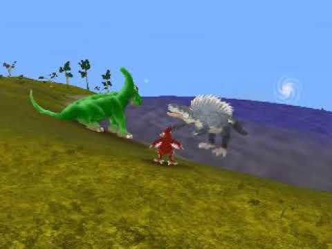 Spore Ducky vs Sailback Sharptooth