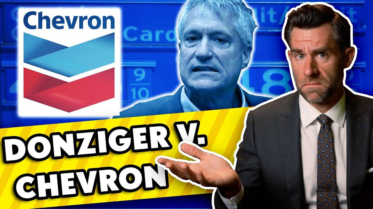 Did Chevron Imprison Environmental Lawyer Steve Donziger