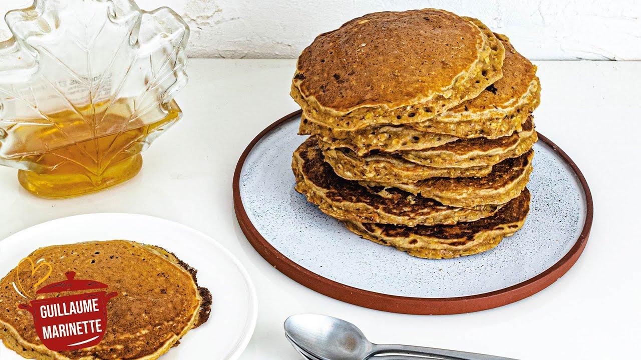 Download Pancake healthy aux flocons d'avoine, comment faire ? Recette facile et rapide !