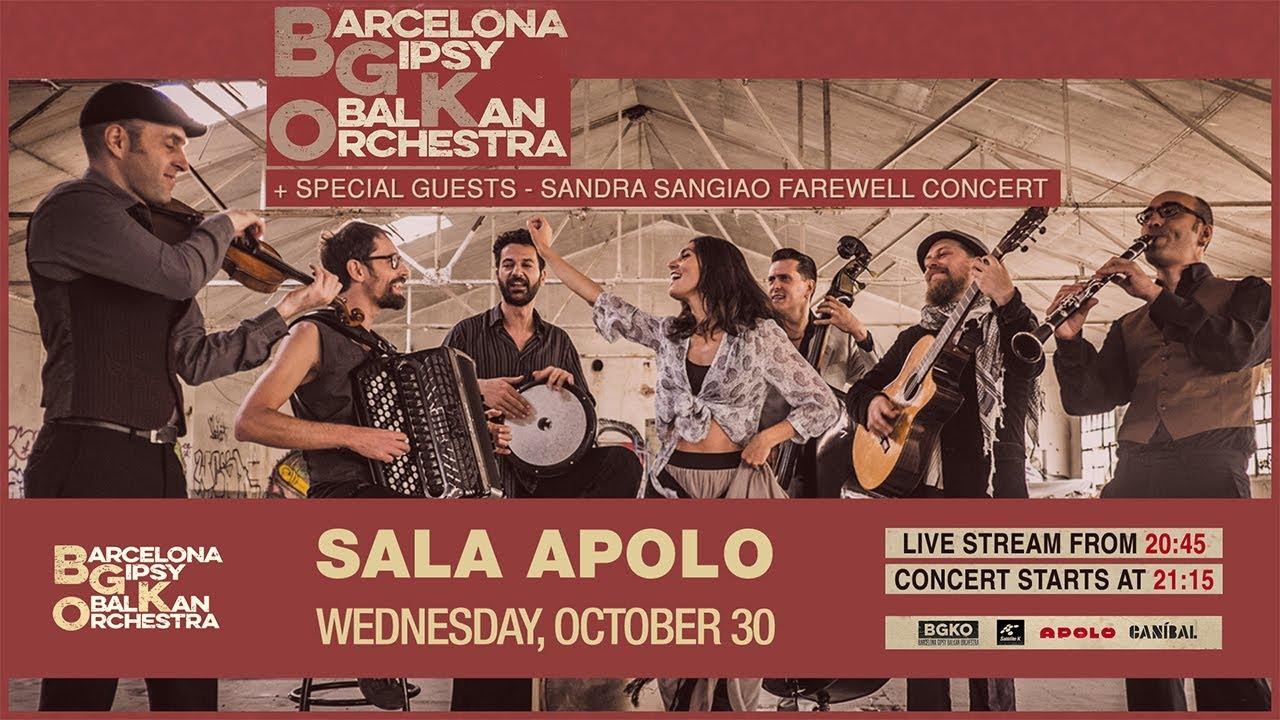 Studio La Sala Milano bgko barcelona gipsy balkan orchestra