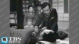 芙美(松原智恵子)が高熱を出して寝込み、一郎(松山英太郎)が医者を呼びに...