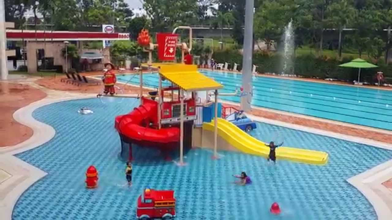 cool swimming pool hometeam ns clubhouse bukit batok youtube