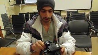 فتح صندوق كاميرا كانون Canon Powe Shot SX60 Hs