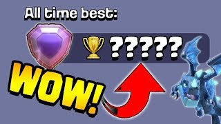 WE BROKE A RECORD!  SMASHED!  TH12 Trophy Push to 7000 | Clash of Clans