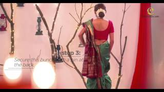 Maharashtian Nauvari saree by Craftsvilla.com