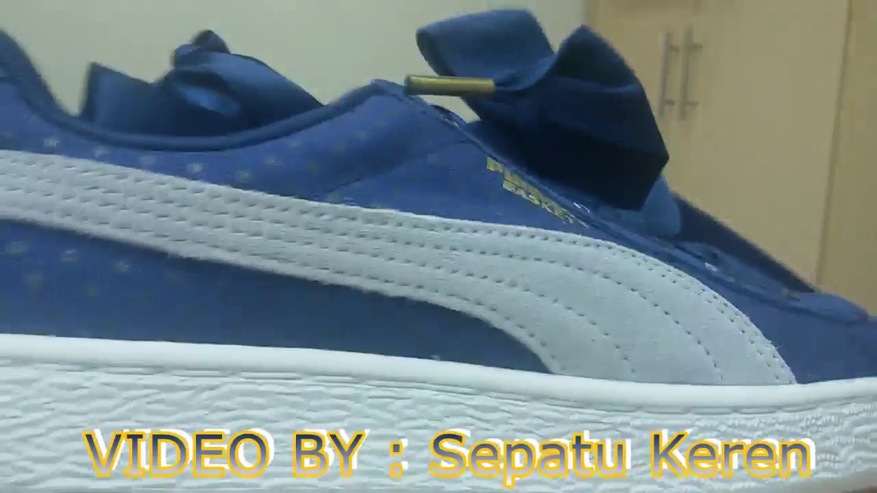 2d2af9280b9 Unboxing Review sneakers PUMA Basket Heart Denim Wn`s 36337101