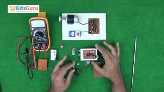 Wireless Direction Control of DC Motor by KitsGuru.com   LGKT018