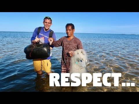 RESPECT LOCALS IN THE PHILIPPINES (Provincial Life, Cuyo Palawan)