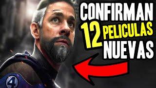 ¡BOMBAZO! Estas son las 12 NUEVAS películas de Marvel hasta 2023, Snyder Cut, Noticias de Loki
