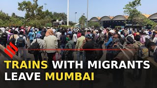 First train with migrants leave Mumbai for UP