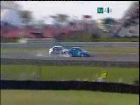 "Jason Plato ""What A Save"" BTCC 2009 Round 1 Race 3 at Brands Hatch"