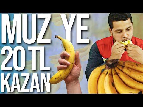 YE KAZAN | 10 SANİYEDE MUZ YE 1000 TL KAZAN !! |