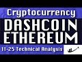 Dashcoin : Ethereum Update-11-25 CryptoCurrency Technical Analysis Chart