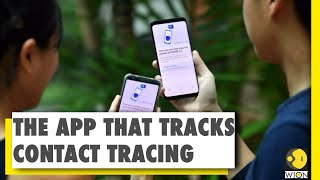 Singapore launches mobile app for contact tracing | coronavirus news covid-19