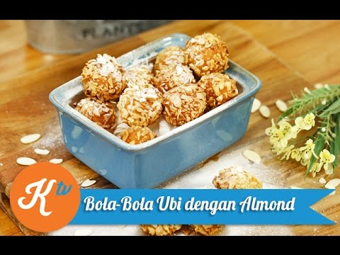 Resep Ubi Keju Goreng (Fried Cheese & Sweet Potato Ball Recipe Video) | ANJANI