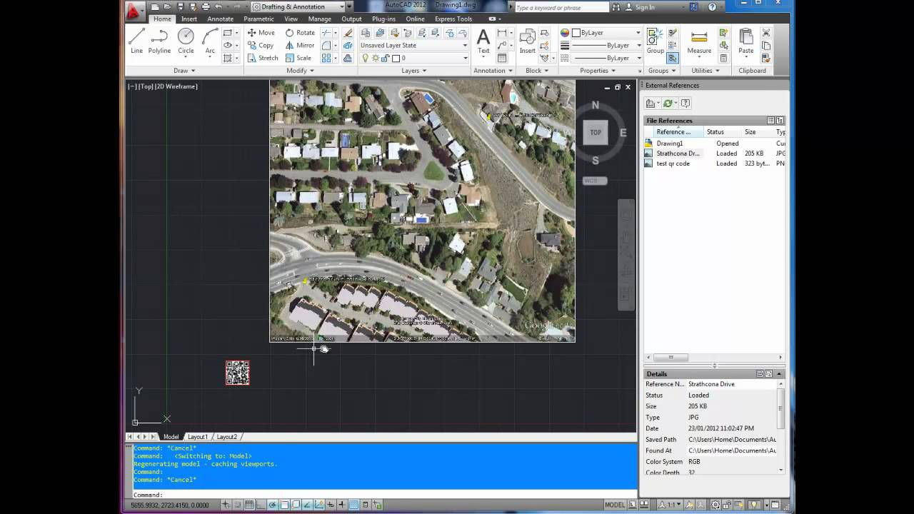 AutoCAD Tutorial: Turn Off the Line Around Images with ...
