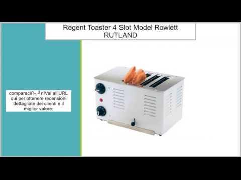 Regent Toaster–4slot model. by Rowlett RUTLAND