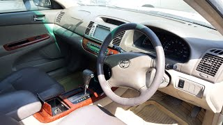 Toyota Camry 2003 Complete Review | Price + Specs