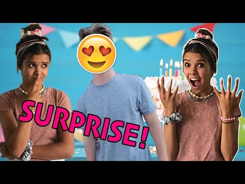 Klai's SURPRISE SWEET 16 birthday party!  Her CRUSH surprised her!!
