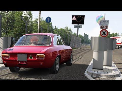 TOURIST HOTLAP #1 Nurburgring Nordschleife Vs Alfa Romeo GTA
