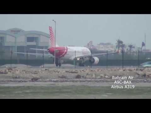 Landings & Take-offs at Bahrain - Dec 2012