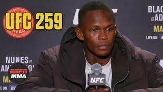 Israel Adesanya reflects on UFC 259 loss to Jan Blachowicz   ESPN MMA
