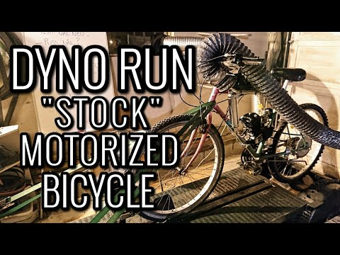 """MOTORIZED BIKE FIRST DYNO RUN 
