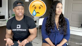 GETTING MARRIED BEFORE THE BABY ARRIVES?? (HIS RESPONSE MADE ME EMOTIONAL!)