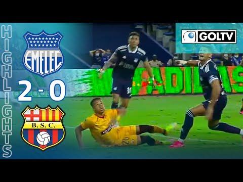 Emelec Barcelona SC Goals And Highlights