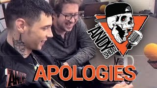 """APOLOGIES"" - The Andy Show - Patreon Throwback"