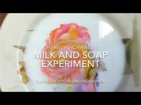 Chemistry Project Milk And Soap EXPERIMENT – CHEMICAL CHANGES