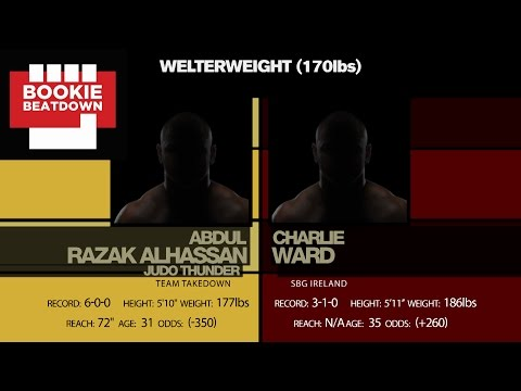 Bookie Beatdown - UFC Fight Night Belfast: Abdul Razak Alhassan vs. Charlie Ward