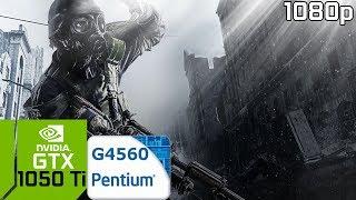Metro 2033 Redux [PC] GTX 1050 Ti 4GB GDDR5 & Intel Pentium G4560
