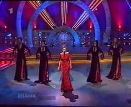 Belgium 1999 Eurovision Like the wind - Vanessa Chinitor